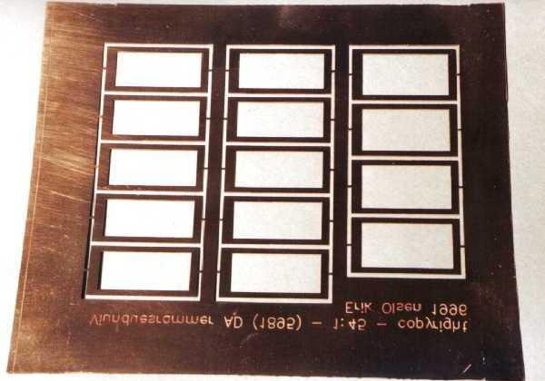 Messingplade 2mm